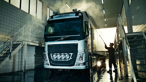 Volvo trucks rental carwash