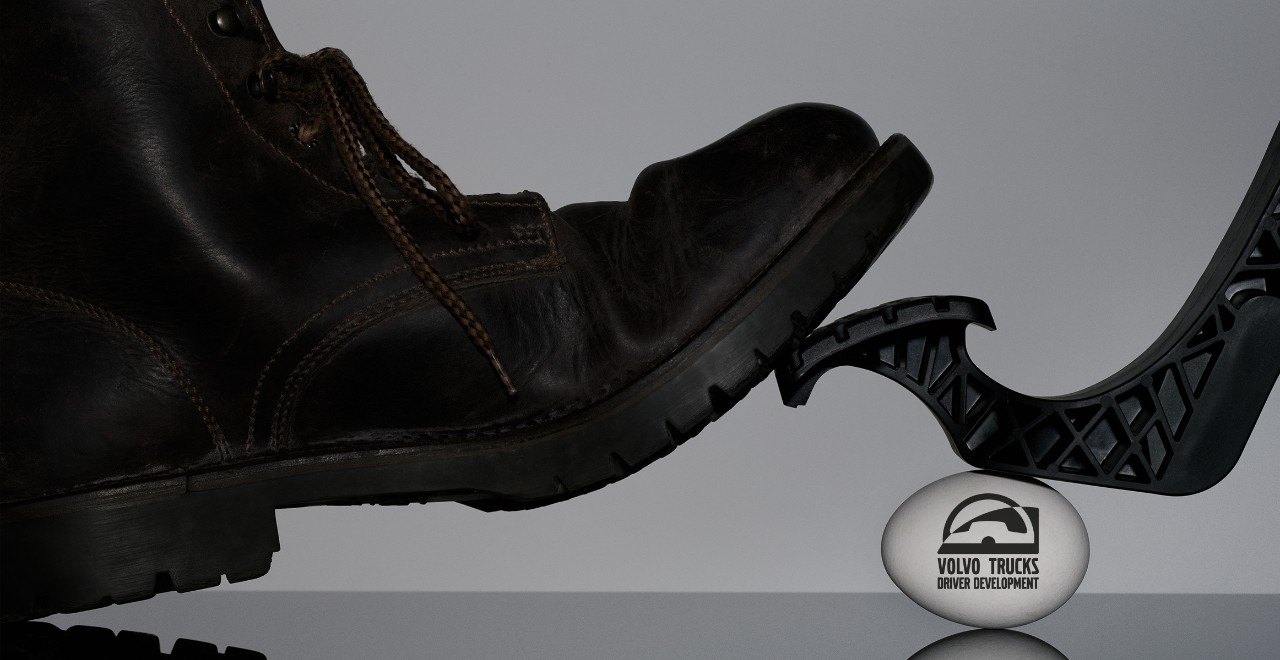 Volvo trucks training overview shoe and egg