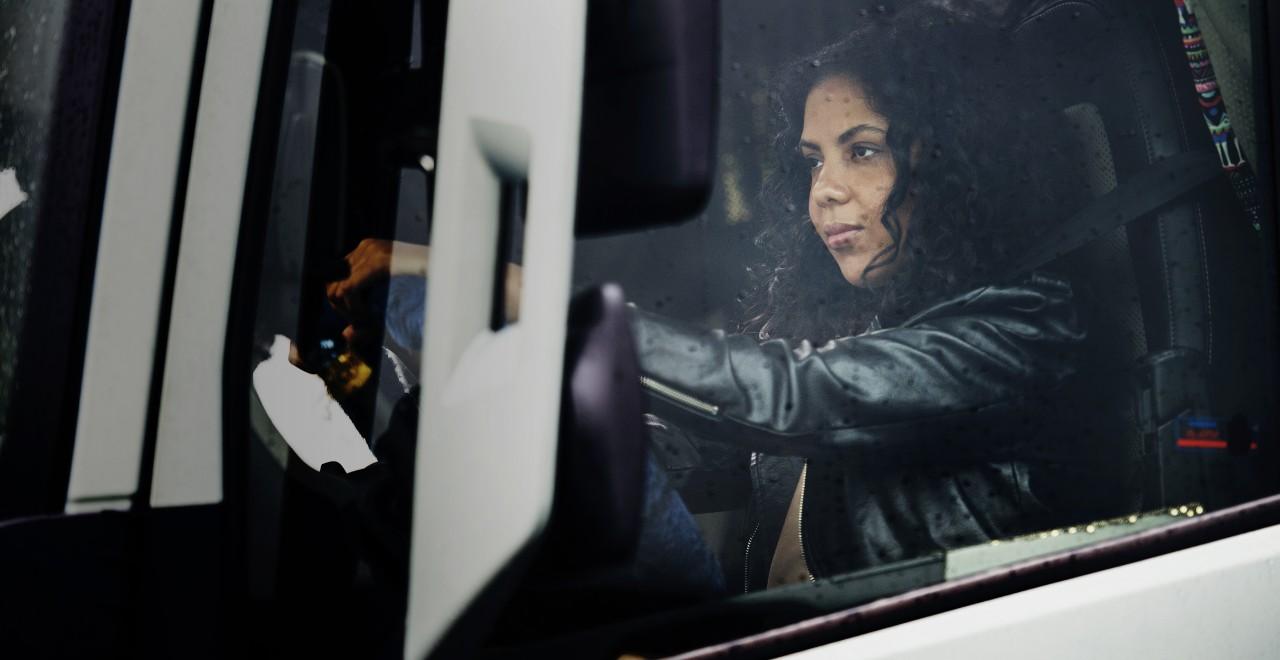 Volvo trucks training health female driver